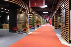 Il padiglione dell'Italia al QWine Expo