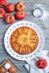 la torta con le mele