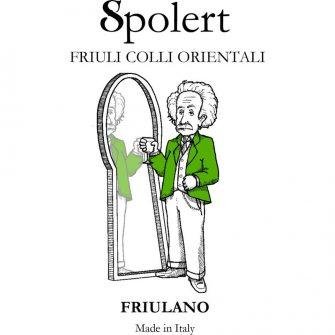 Etichetta Friulano spolert