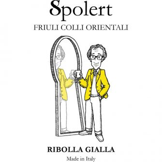 Etichetta Ribolla Gialla spolert